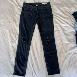 rag & bone The Skinny Jean in Soft Rock